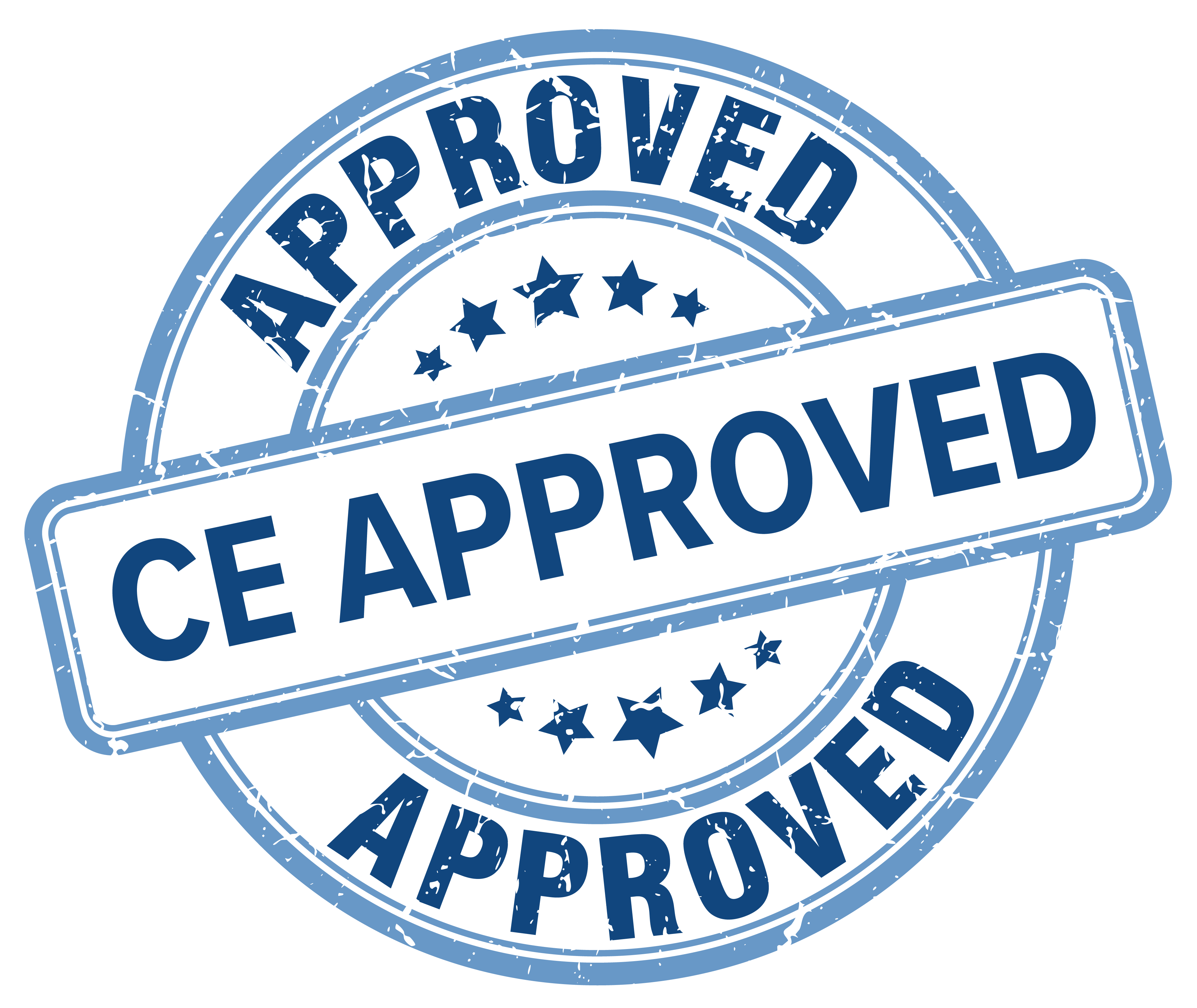 CE approval seal